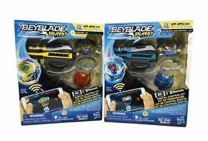 Lot of Beyblade Burst Evolution Genesis Valtryek V3 and Fafnir F3 RC Bluetooth