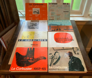 Le Corbusier Complete Works in 8 Volumes (Hardcover) - English, French & German