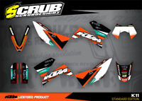 KTM Dekor SMC 625 640 660 2005 2006 2007 2008 '05 '06 '07 '08 SCRUB LC4