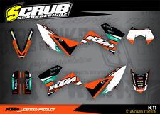 KTM LC4 Dekor SMC SXC 625 640 660 2006 2007 2008 '06 '07 '08 Scrub Motocross