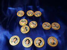 Australian Olympic 2000 commemorative Medallions x12 dupicates