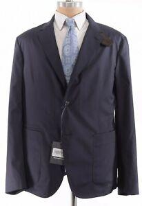 Ermenegildo Zegna NWT Sport Coat 46R Leggerissimo Travel Blazer Blue $2,495