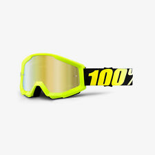 100% STRATA 2018 Goggles - Offroad MX Motocross - CLEAR or  MIRROR LENS Goggles