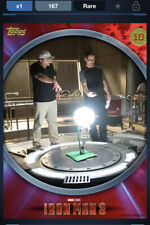 Topps Marvel Collect DIGITAL IRON MAN 3 BEHIND THE SCENES - ID #4654 167CC