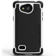 Ballistic Tough Jacket Case for LG Classic (US Cellular) Black/White