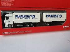herpa-Actros 11 <<  Panalpina Group--on 6 continents >>BDF Wechselbrücke-302012