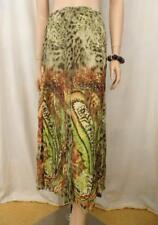 KAMIKO Animal Sheer Print Polyester Skirt Sz 16