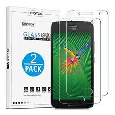 OMOTON Moto G5 Plus Protecteur d'écran, protection d'écran verre trempé avec [Scra