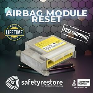 For All NISSAN Restraint System Airbag Module Reset Service - RCM Repair - FAST!