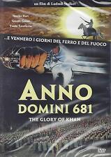 Dvd **ANNO DOMINI 681 - THE GLORY OF KHAN** nuovo sigillato 1984