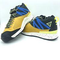 Nike Okwahn II 525367-301 Sequoia Men's ACG Hiking Trail Shoes Black Blue Sz 9.5