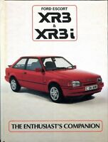 Ford Escort XR3 and XR3i The Enthusiast's Companion - Ray Hutton 1986 book