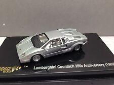 HO 1/87 Ricko # 38841 Lamborghini Countach (1989)  25th Aniv. Edition Silver