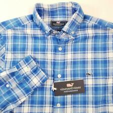 Vineyard Vines Men's Plaid Flannel Tucker Shirt Classic Fit Sz XS NWT $99