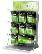 Techly Présentoir Stand en Vente Libre pour Batterie 50cm