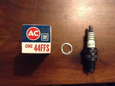 AC Fire Ring Spark Plug # 44FFS with 4 EQUAL GREEN STRIPE RINGS