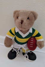 "Vintage Harrods Soft Toy Rugby 12"" Teddy Bear"