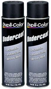 Duplicolor Paintable Rubberized Undercoat (16 oz) - 2 Pack DUPUC101-2PK