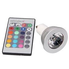 GU10 5W 16 Farbwechsel RGB LED Spot Licht Light Lampe IR Fernbedienung GY