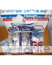 TAMIYA 1/6 HARLEY DAVIDSON FLH1200 AMF BS1607 + BRAND NEW AFTERMARKET DECAL