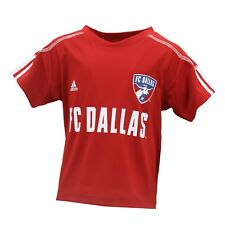 Fc Dallas Mls Adidas Infant & Toddler Size Athletic Jersey-Style Shirt New Tags