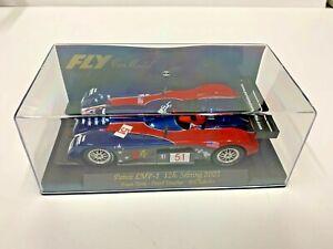 SLOT CARS 1/32 SCALE  N.O.S. VSHARP # 51 R/W/B RACER SLOT CAR RACE CAR IN CASE
