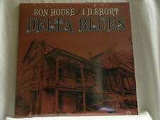 SON HOUSE & J.D. SHORT Delta Blues Folkways vinyl NEW SEALED LP