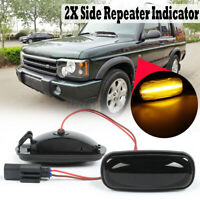 LED Side Repeater Indicator Light Turn Signal For Land Rover Discovery   D*//