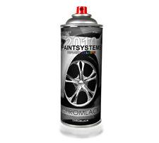 Chrom Spray Sprühlack Chromlack Farbe Silber 400ml
