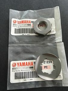 Yamaha Banshee YFZ350  front sprocket nut lock washer