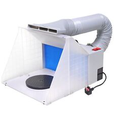 a480811d551a 25W Portable Airbrush Spray Paint Booth Filter Extractor Kit Air Brush Art  Craft