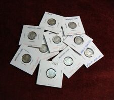 (10) Coin Lot Mercury Dimes 1934-D THRU 1945...GENTLY CIRCULATED #791