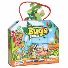Children's Party Prize - 25 Piece Puzzle with 3D Pieces - Bugs