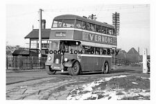 pt9872 - Doncaster Bus EDT 702 at Rossington in 1956 , Yorkshire - photograph