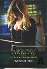 Arrow Season 2 Green Foil Parallel Base Card #11 Our Masked Friend