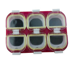 6 Compartments Waterproof Fishing Lure Bait Tackle Storage Box Case With Magnet