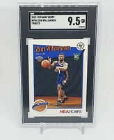 2019-20 Panini Hoops Tribute #296 Zion Williamson RC Rookie Pelicans SGC 9.5