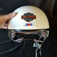 Genuine Harley Davidson Helmet w/Flip-down Visor – BENEFITS CHARITY!