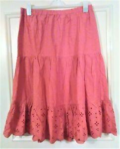 Daxon lightweight 3 tier elasticated skirt size UK 18 EU 44 US 16