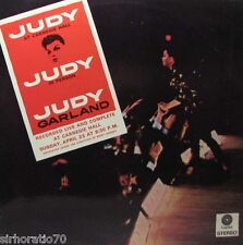 JUDY GARLAND At Carnegie Hall / In Person LP