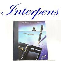 Montblanc Kollektion Werbung Buch Katalog Füllfederhalter Kugelschreiber Pix Neu