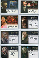 Harry Potter COS GOF OOTP 3D UD Autograph Costme Coin Card Selection NM Artbox