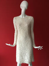 Next Lace Long Sleeve Work Office Summer Wedding Party Dress with Belt 6 BNWT