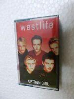 WESTLIFE UPTOWN GIRL RARE orig CASSETTE TAPE INDIA  2001