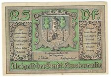 Notgeld-città loschi Bosco - 25 Pfennig 1921