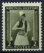 Albania 1939-41 SG#352, 2q Tosk Man MH #D60943