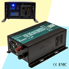 DC to AC Power Inverter 800W Pure Sine Wave Inverter 12/24/48V to 120/220V Solar