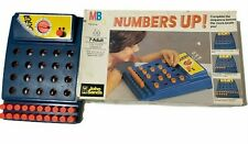 Milton Bradley Numbers Up Count Down Against The Clock Board Game Vintage 1977