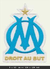 OLYMPIQUE MARSEILLE Patch Aufnäher Bügelbild Fußball Fussball football France