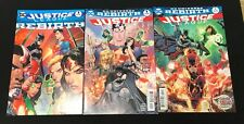 Justice League Rebirth, #1 #2 Variant All NM Total Of Three Comics
